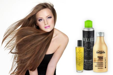 gesunde schöne lange Haare