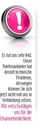 Technische Probleme