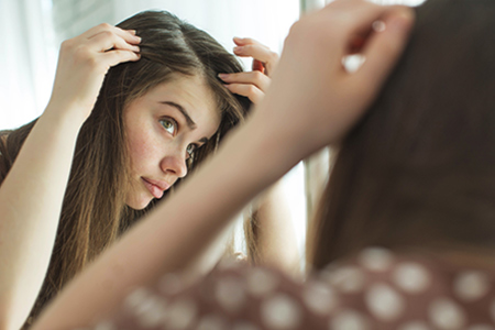 Die beste Pflege der empfindlichen Kopfhaut