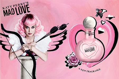 Seit ihr bereit für Mad Love? Hier kommt Katy Perry´s neues Parfüm!