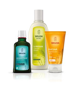 Weleda-Shampoos und Haarpflege